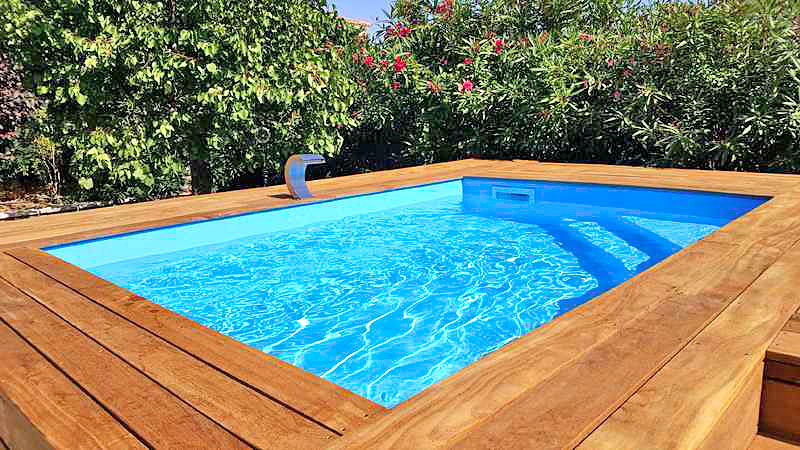 construction installation d 39 am nagement de mini piscine en bois var alpes maritimes var alpes. Black Bedroom Furniture Sets. Home Design Ideas